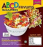 Pmw - Grade A Quality - Multi Coloured Alphabet Snacks - Multi Coloured Fryums - Raw - Vadiyalu - 1 Kilo - Free 15 Gram…