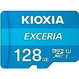 Kioxia LMEX1L128GG2 Exceria - Scheda SD MicroSD da 128 GB