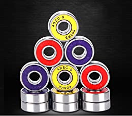 Ocamo Precision 608 RS ABEC 9 Professional Ball Bearings Scooters Electric Drills Fidget Spinner High-speed High-Strength Replacement Bearings