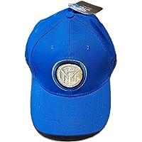 Cappello Inter FC Cappellino Ufficiale Berretto Misura Regolabile