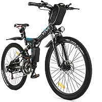 VIVI E-Bike Herren Elektrofahrrad, 26 Zoll Ebike Klapprad 350W Mountainbike Mit Herausnehmbarer 8Ah Batterie…