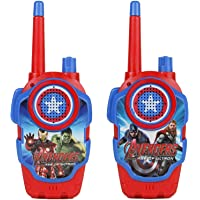 Walkie Talkie Set for Kids with Extendable Antenna for Extra Range (150 feet) (Avengers Like)