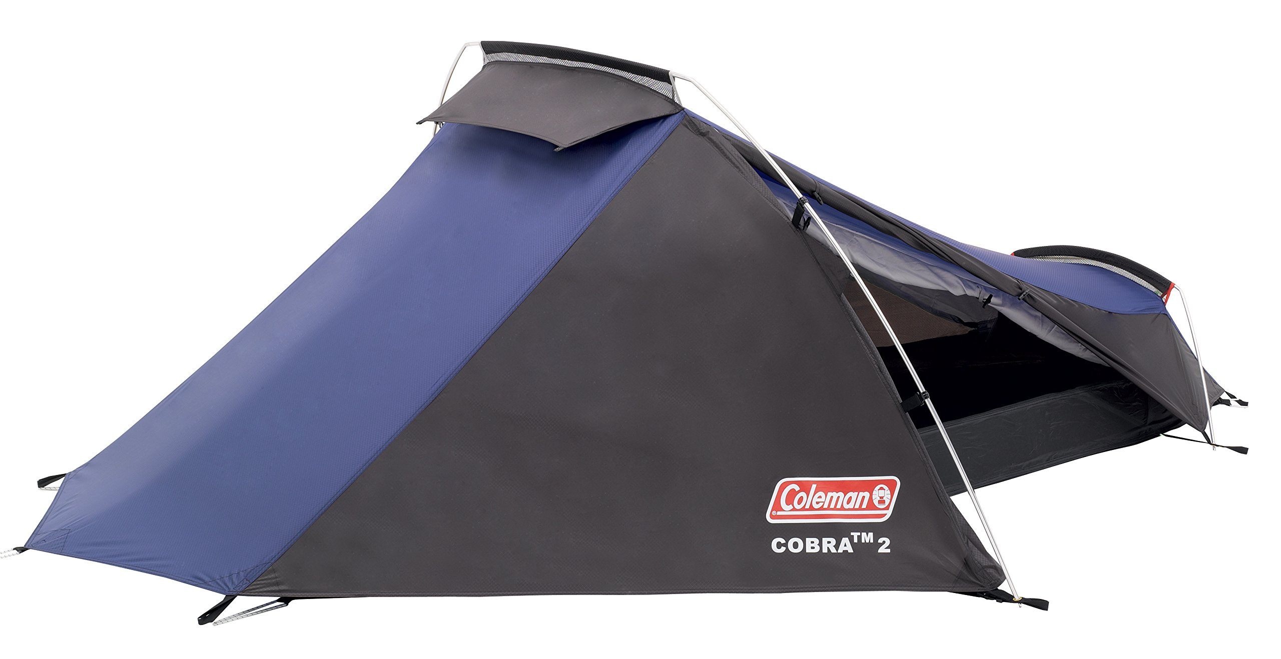 Coleman Cobra 2 Tent for Trekking Tours, Camping or Festivals, Small Pack Size, Fits in a Backpack, Waterproof HH 3.000… 3