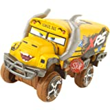 Disney Cars GBJ46 - XRS Xtreme Racing Serie Schlammrennen Die-Cast Spielzeugauto Deluxe Miss Fritter, Spielzeug ab 3…
