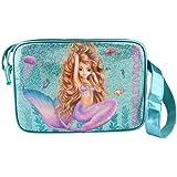 Top Model Bolso Bandolera Fantasy model Mermaid Bolso Bandolera, 40 cm, Multicolor