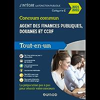 Concours commun Agent des finances publiques, douanes et CCRF - Tout-en-un - 2021-2022 : Catégorie C - Tout-en-un
