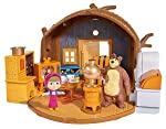 Masha and the Bear Doll House Tree Playset Toys for Kids