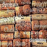 20 Serviette Wein Korken Trinken Weißwein Rotwein Weinlese 33 x 33