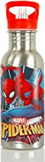 Magic Bottles Colour changing stainless steel Marvel Spiderman Character Magic-Bottle (Multicolour)