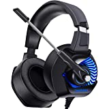 Onikuma K6 Gaming Headset  Black and Blue