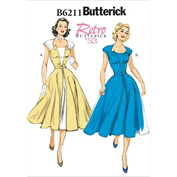 Butterick Patterns 40 E40 Sizes 4040404040 Misses Dress And Best Butterick Patterns