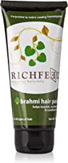 Richfeel Hair Pack Brahmi, 100gm
