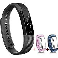 NAKOSITE SB2433 Schrittzähler Fitness Smartwatch Armband für Damen Herren Kinder. Kalorienzähler, Schlafüberwachung…
