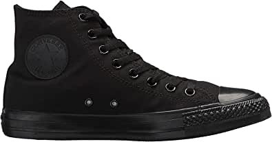 Converse Chuck Taylor all Star Mono Leather Hi, Sneaker Unisex – Adulto