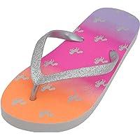 Sandrocks Girls Summer Fun Printed Flip Flops