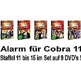 Alarm für Cobra 11 - Staffel 11 - 15 im Set - Deutsche Originalware [9 DVDs]