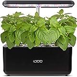 iDoo Sistema de Cultivo hidropónico, Jardinera de Interior de Hierbas con luz de Crecimiento LED, Smart Garden con 7 vainas,