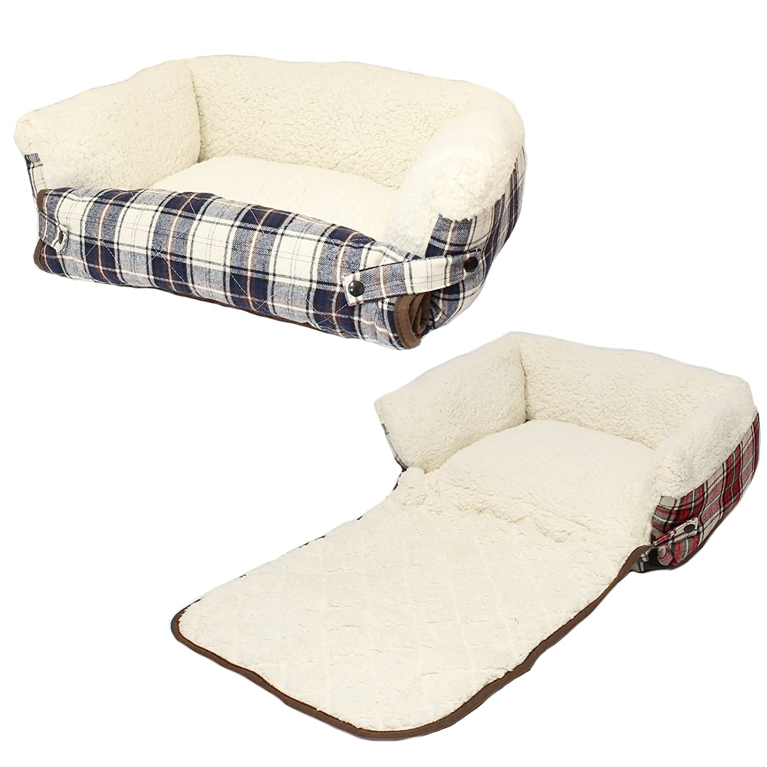 Me & My Dog Cat Fold Out Bed with Sofa Protector Available in