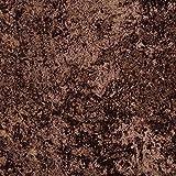 Pannesamt Vorhang & Polsterstoff (Panther) - Brownie/braun