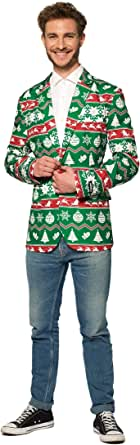 Suitmeister Christmas Blazers for Men in Different Prints - The Perfect Xmas Costume Blazer
