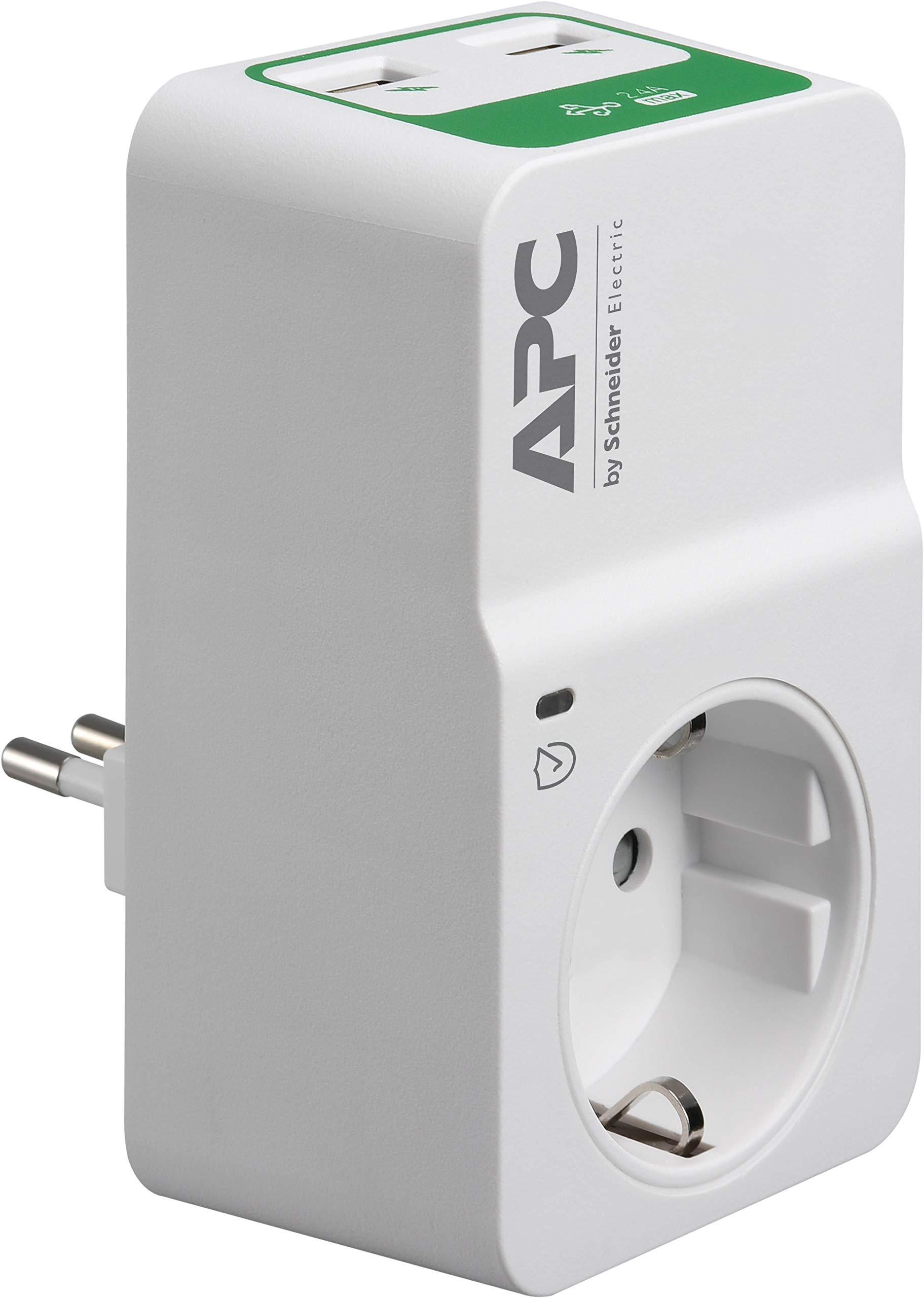 APC-by-Schneider-Electric-PMF83VT-IT-Performance-Surge-Arrest-Presa-Filtrata-8-Uscite-Schuko-Italiane-Protezione-Linea-Video-Coassiale-e-Telefonica