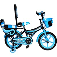 RAW BICYCLES Sports BMX Single Speed 14T inches Bicycle/Cycle for Kids 3 to 5 Years Boys & Girls with Training Side