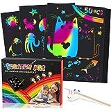 Dreamingbox Kit de álbum de Recortes para 50 PC para Niños: Regalos y Juguetes de Bricolaje/Tarjetas de Regalo/Manualidades/P
