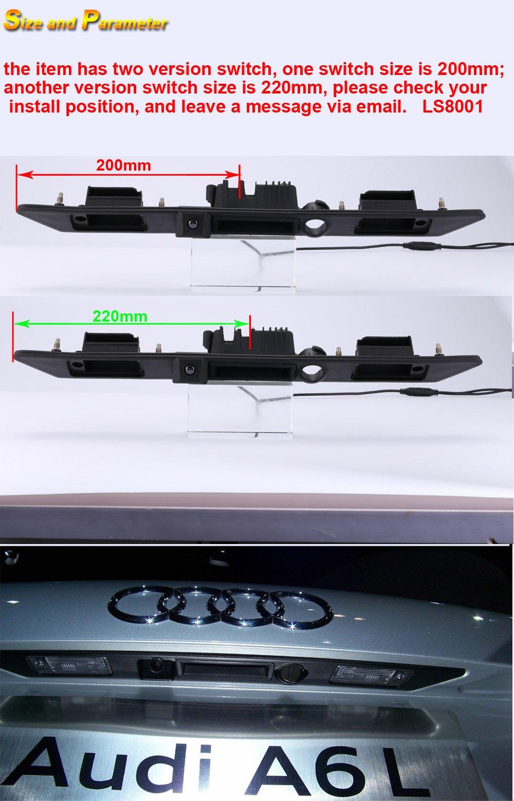 Griffleiste-Kofferraumgriff-Auto-Rckfahrkamera