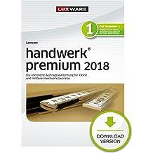Lexware handwerk premium 2018 Download Jahresversion (365-Tage) [Online Code]