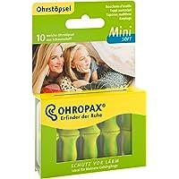 OHROPAX MINI SOFT - Anatomisch geformte In-Ear-Ohrstöpsel für den kleinen Gehörgang und für Kinder - aus Schaumstoff…