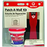 Red 0549 ONETIME Lightweight Spackling Patch-A-Wall Kit, 1/2 Pint, Pack of 1, White