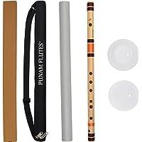 Punam Flutes C Natural Medium Right Hand Bansuri Size 19 inches