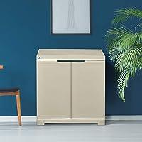 Nilkamal Freedom Mini Small (FMS) Plastic Storage Cabinet (Grey)