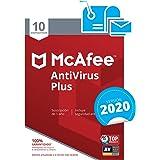 McAfee AntiVirus Plus 2020 - Antivirus | 10 Dispositivos | Suscripción de 1 año | PC/Mac/Android/Smartphones | Código de acti