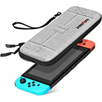 Case for NS Switch/Switch OLED - innoAura Portable HardShell Slim Travel Carrying Case fit Switch Console & 8 Game…