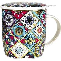 Mug porcelaine avec infuseur Oriental