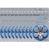 Power One 10 förpackningar (60 batterier) Power One Cochlear Implant batterier! 60 batterier från Power One