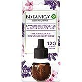 Air Wick Botanica luchtverfrisser, navulverpakking, elektrisch, lavendel van de Provence/kersenbloesem, 19 ml