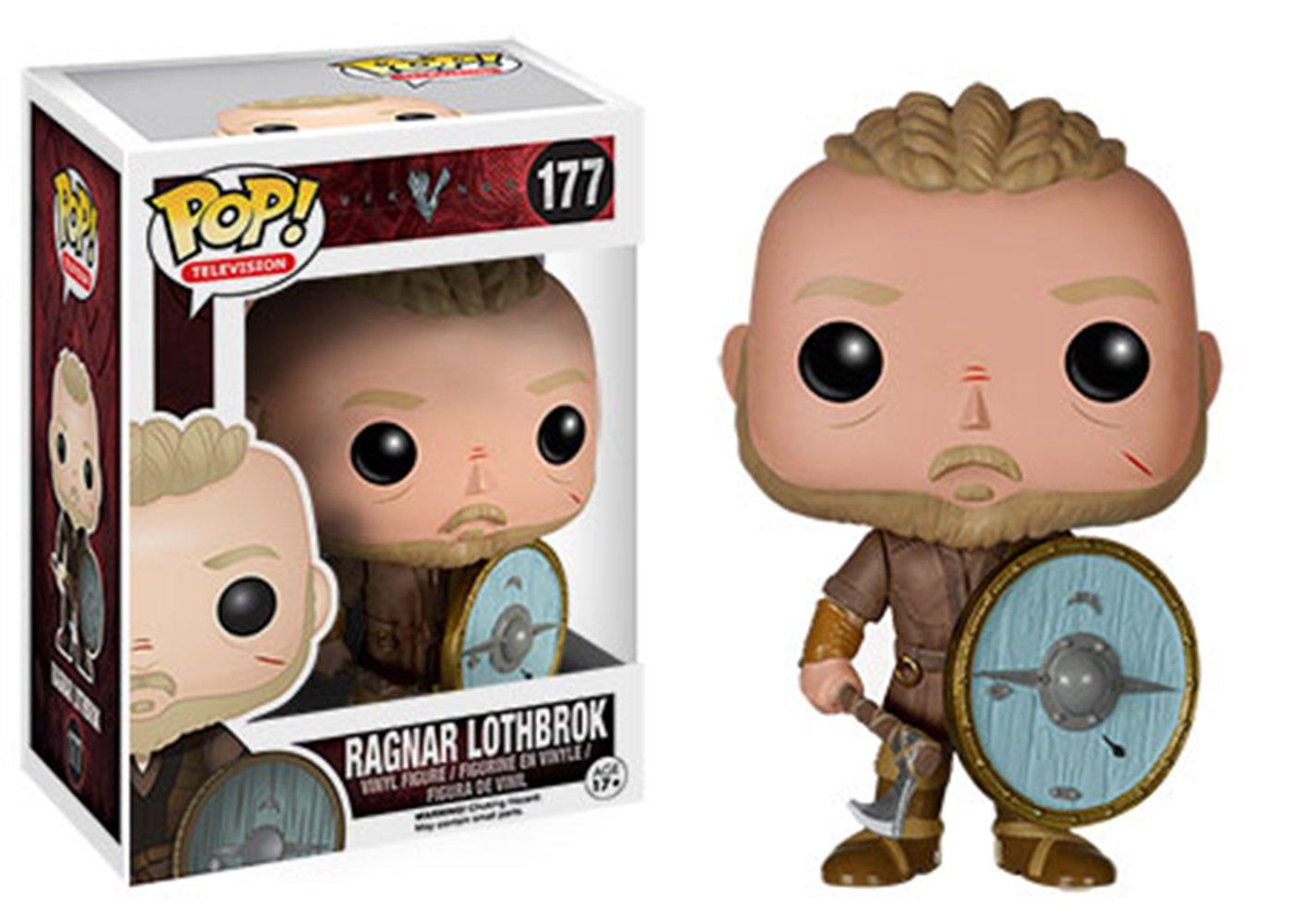 Funko Pop Ragnar Lothbrok (Vikings 177) Funko Pop Vikings
