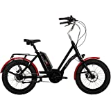 Corratec E-Power Life S Bosch Active 400 E-Bike - Modell 2018 - BK23280 Schwarz/Rot