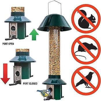 Squirrel Proof Wild Bird Feeder - Mixed Seed / Sunflower Heart Feeder - Roamwild PestOff