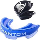 Phantom - Paradenti Professionale per Arti Marziali, Arti Marziali, MMA, Kickboxing, Muay Thai Boxe, con Custodia…