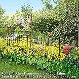 Gartenzaun Basic, 9er-Set