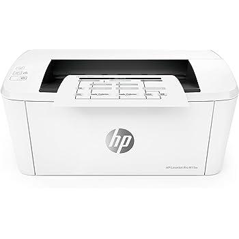 HP LaserJet Pro M15w Laserdrucker (Drucken, WLAN, Airprint) weiß