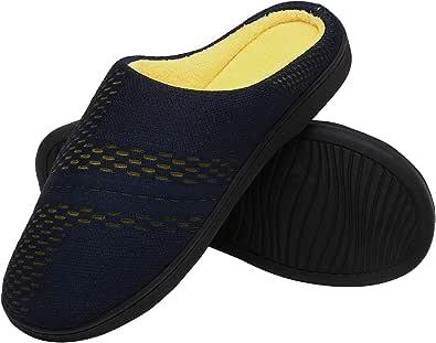ChayChax Pantofole da Casa Donna Uomo Caldo Peluche Ciabatte da Casa Memory Foam Casa Pattini Leggero Inverno Cotone Scarpe