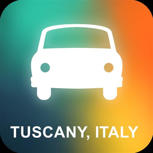 Toscana, Italia GPS