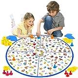 VATOS Brettspiel, Lernspiel Kleiner Detektiv Brettspiele für Kinder Spielzeug für Familien Party, Matching-Spiele Spielzeug f