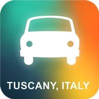 Toskana, Italien GPS