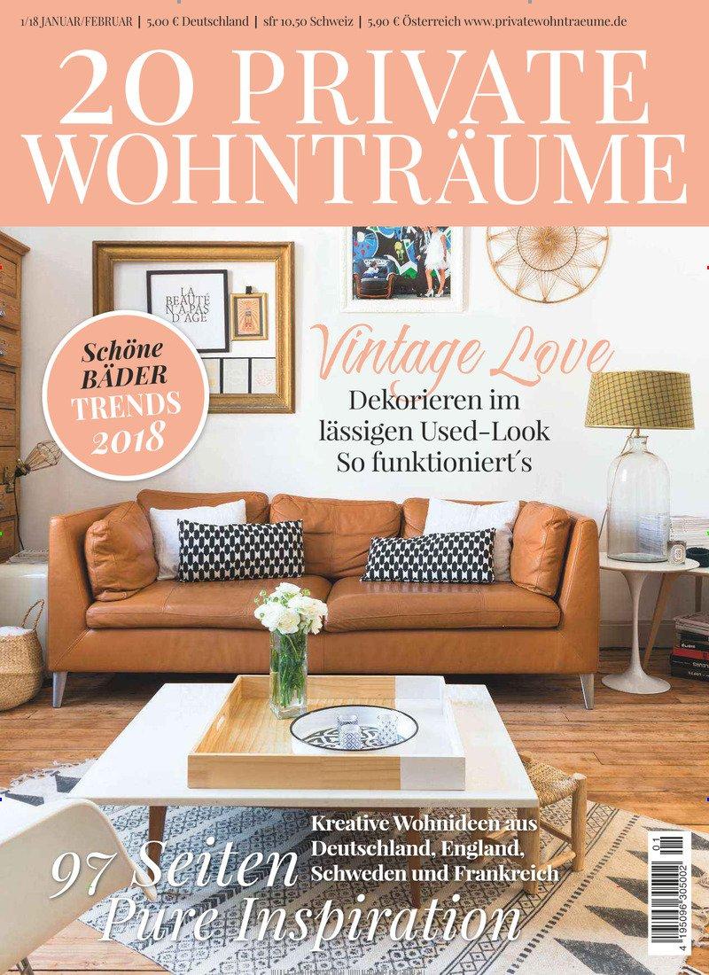 20 PRIVATE WOHNTRÄUME [Jahresabo]: Amazon.de: Zeitschriften