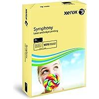 Xerox Symphony pastel - Papier de couleur Crème Ivoire 160g/m² A4 - Ramette de 250 feuilles